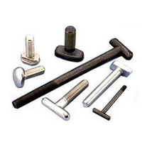 T Bolts Manufacturer, Carbon Steel T Bolts, Alloy Steel T Bolts