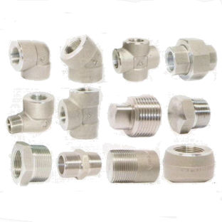 Forged High Pressure Pipe Fittings Threaded