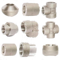 Forged High Pressure Pipe Fittings Socket Weld