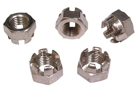 Slotted hex nut stainless steel mlife myvegas slots
